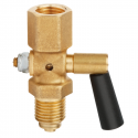 Pressure Gauge Cock fig.525 Two-way M20x1.5 INT /EXT 1/2'