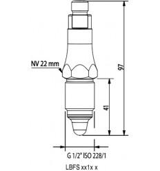 Czujnik poziomu BAUMER LBFS 0111 sonda