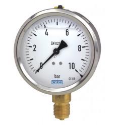 213.53.100Rglc. Pressure Gauge 1000 bar G1/2B