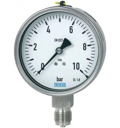 Manometr 232.50.100R 10 bar G1/2B Kl.1,0