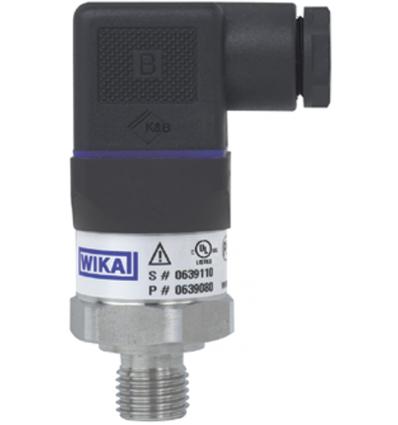 Przetwornik ciśnienia A-10 0...10 bar względne G 1/4 A wg DIN 3852-E 4 ... 20 mA, 2-przewody