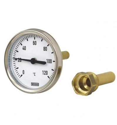 Termometr T63, 0-120°C L40 A46