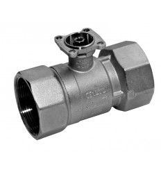 2-Way Control Ball Valve DN15, kvs 1.6 Female Thread